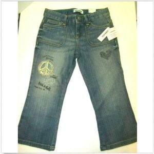 Old Navy Girls Rock & Roll Stretch Jeans NWT